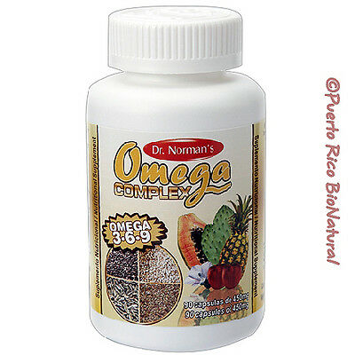 Dr. Norman's Omega 3-6-9 Packaging