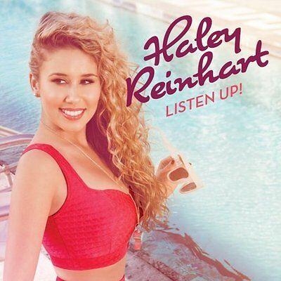 New Haley Reinhart Listen Up   Cd  2012   10 Tracks  Factory Sealed