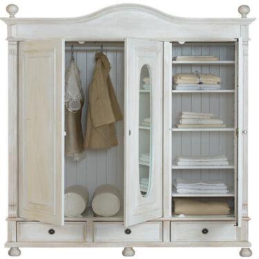 Schlafzimmerschrank modern  Schlafzimmer Kleiderschrank - massiv Holz - modern & elegant in ...