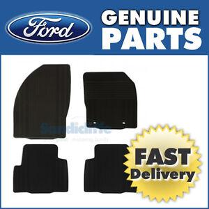 genuine ford kuga front rear rubber car mats 08 11. Black Bedroom Furniture Sets. Home Design Ideas