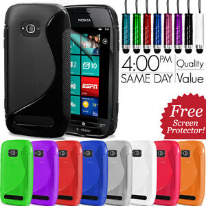 S-LINE-WAVE-GEL-CASE-COVER-FOR-NOKIA-LUMIA-710-FREE-SCREEN-PROTECTOR