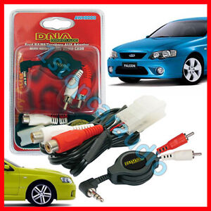 Ford BA-BF Falcon AUX iPod iPhone iPad mp3 auxiliary adaptor PLUG AND PLAY!