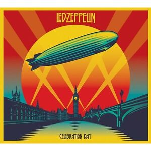 2 CD + DVD Set Celebration day Led Zeppelin Sealed ! New !