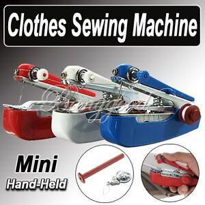 mini machine a coudre portable mecanique manuelle canette. Black Bedroom Furniture Sets. Home Design Ideas