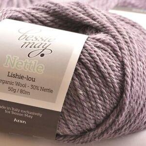Nettle-Organic-Aran-Hand-Knit-Wool-Bessie-May-NETTLE-in-Lilac-of-Heather