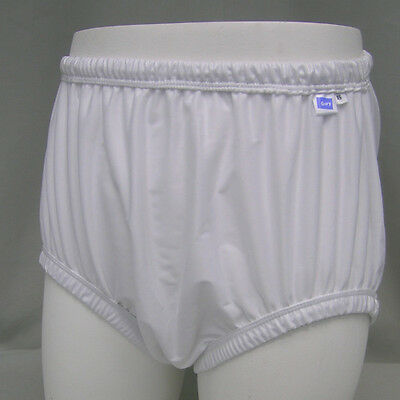 White Diaper Nappy Leak Resistant Gary Adult Washable Waterproof Pul Pant Gsppx