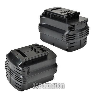 2 X 2.0ah Ni-cd 24v Battery For Dewalt Dw0240 Dw0242 De02...
