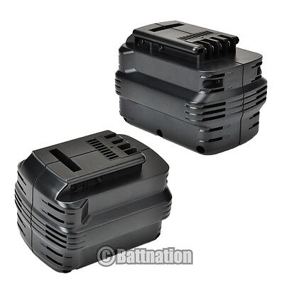 2 24v 2.0ah Battery For Dewalt De0240-xj De0243-xj Dw0242...