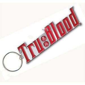 True-Blood-Drink-Logo-Metal-Key-Ring-Chain-100-Official-Genuine-Merchandise-New