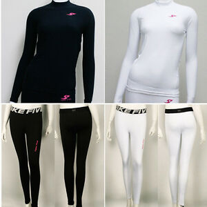 New-Womens-Winter-Compression-Under-Base-Layer-Skin-Tight-Pants-Shirts