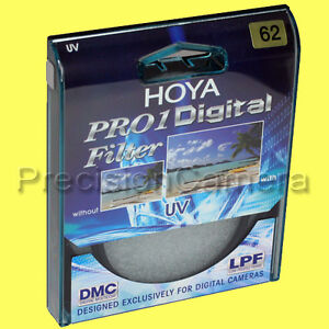 Genuine Hoya 62mm Pro1 Digital UV Filter Pro1D DMC