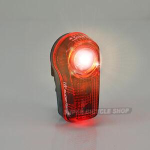 New Smart 1 Watt Red LED SuperFlash Bike Rear Light