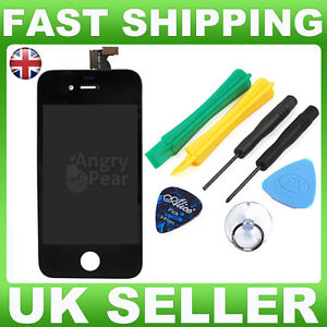 Replacement-LCD-Screen-and-Digitizer-For-Apple-iPhone-4-4G-Black