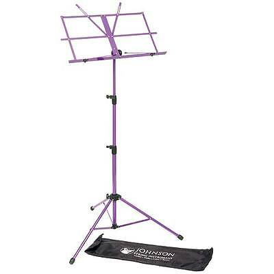 JSI Purple Folding Sheet Music Stand with Carrying Bag - FRIENDLY SERVICE! on Rummage