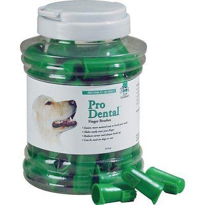 Dog Puppy Finger Oral Toothbrush - Pro Dental - Set Of 5 Brushes
