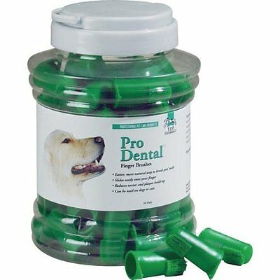 Dog Puppy Finger Oral Toothbrush - Pro Dental - Set Of 5 Brushes