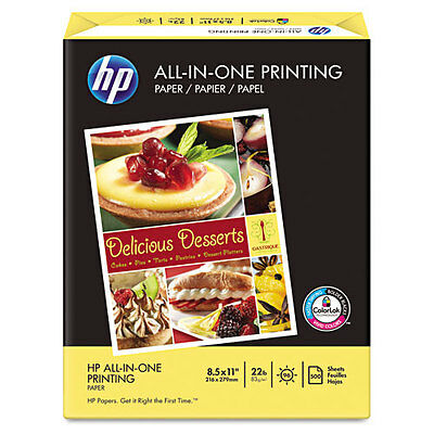 500 Sheets HP ALL-IN-ONE Paper 8.5x11 Printer Copy Fax Multipurpose Laser Inkjet