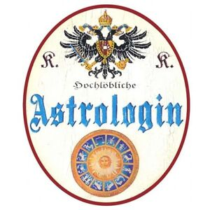 Astrologin Türschild - <span itemprop=availableAtOrFrom>Koppl, Österreich</span> - Widerrufsrecht nach § 312 ff. BGB (Fernabsatzgesetz) Verbraucher haben binnen zwei Wochen nach Vertragsschluss die Möglichkeit, den Vertrag ohne Begründung zu widerrufen. Der Widerruf kann  - Koppl, Österreich