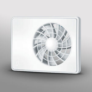 Designer Bathroom Wetroom Kitchen Silent Quiet Extractor Fan Timer Humidity Ebay