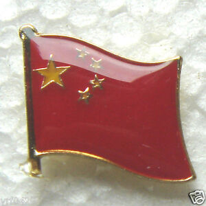 China Badge National Flag Lapel Pin
