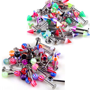 Wholesale-Lot-100pcs-18g-Body-Jewelry-Lip-Nose-Tongue-Rings-Piercing-ba05-ba15