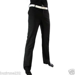TPL1-THELEES-Mens-Business-Slim-fit-Low-rise-Straight-fit-Dress-Pants