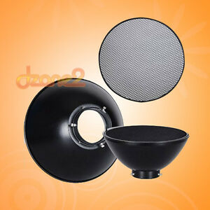 Beauty-Dish-with-Honeycomb-Grip-for-300w-400w-600w-800w-Flash-Light-S459