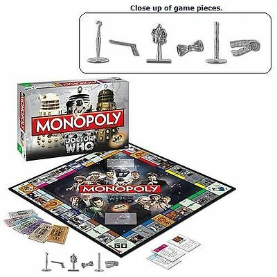 Doctor Who Collector's Edition Monopoly Board Game 50th Anniversary