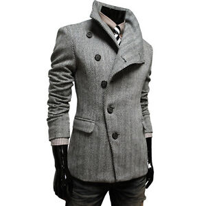 TheLees-NWT-Mens-casual-Slim-fit-Double-Single-Jacket-Coat-Blazer-Collection