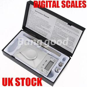 0.001g-10g Mini Precision Jewelry Diamond Weigh Digital Scales Gram Weight Tool