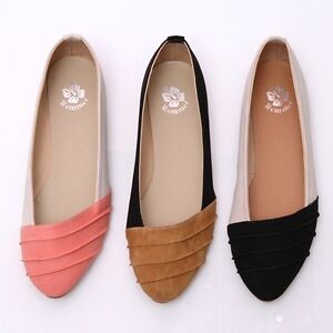 BN-Comfy-Pointed-Toe-Two-Tone-Ballet-Flats-Espadrilles-Loafers-Oxfords-Slides