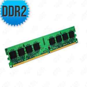 2GB Kit [2x1GB] DDR2-667 PC2-5300 Non-ECC Unbuffered 240 Pin 1.8V CL=5 Memory