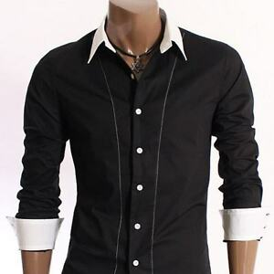 Collection of New Designer Eye Catching Men's Slim Fit Dress Casual Shirts