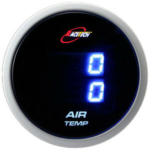 Inside Outside Thermometer Air Temp Gauge Meter Truck Car Dual Display Blue Led Ebay