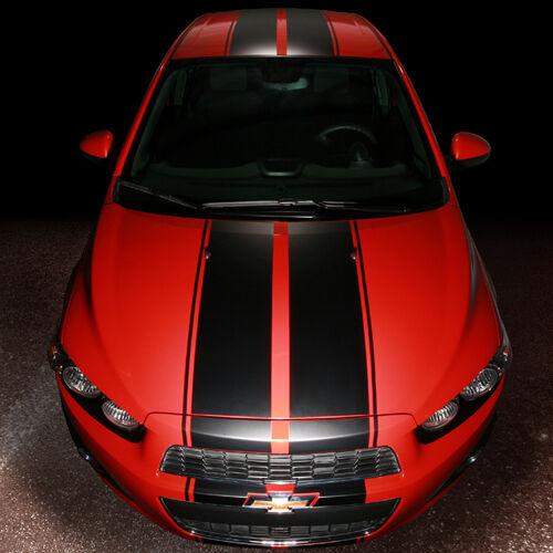 2012 Up Chevrolet Sonic Chevy 5 Door Hatchback Rally Style Stripe