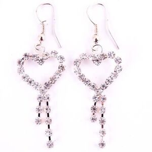 Fashion Pretty Hot Cool Charms Party Crystal Resin Studs Earring