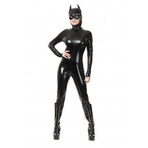 CAT-SUIT-ADULT-HALLOWEEN-COSTUME-WOMENS-SIZE-X-LARGE-14-16