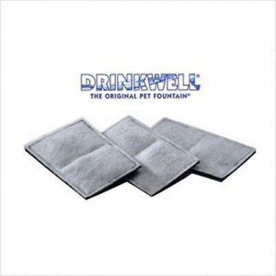 Drinkwell Original Platinum Big Dog Multi-tier Zen Fountain Water Filter 3 Pk