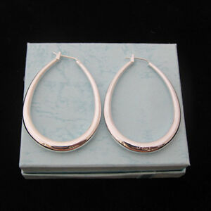 Fashion Heavy Hoop Earrings,Silver Plated Wholesale price E83