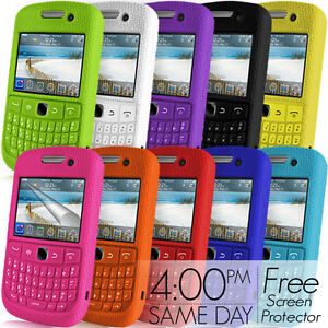 KEYPAD-SILICONE-CASE-SCREEN-PROTECTOR-FOR-BLACKBERRY-CURVE-8520-9300-3G