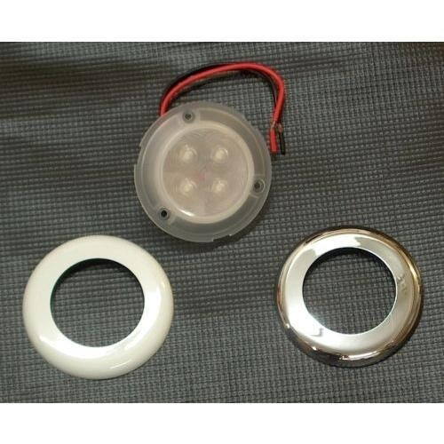 Red LED Color Flush Mount Courtesy, Accent and Utility Light for Boats