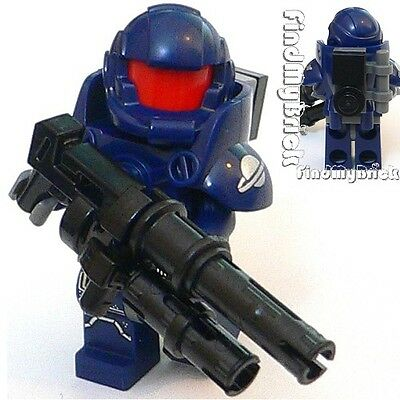 M676 Lego Custom Halo / Terran Trooper Custom Minifigure