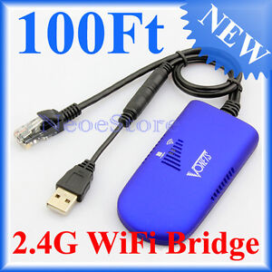 Wifi Bridge Dongle Wireless Connector For DreamBox Sky HD Box Anytiem+ PS3 STB
