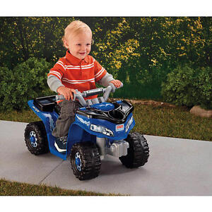 Power-Wheels-Fisher-Price-Lil-Kawasaki-Boys-Sport-Quad-Colors-Styles-Var-zTC