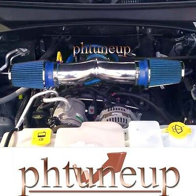 07-10 Dodge Nitro 3.7l Dual Air Intake Kit + 2 Filters