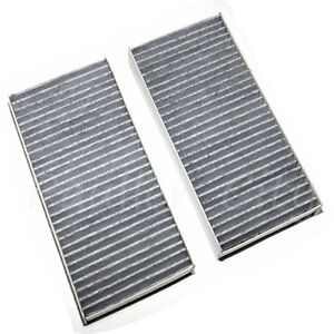 NEW Honda/Acura Premium Carbon Cabin Air Filter 2 Piece Set(Fits: 03-11 Element)