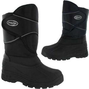 MENS-SNOW-BOOTS-BOYS-WATERPROOF-WINTER-MUCKER-FUR-THERMAL-SKI-WELLINGTONS-BOOTS