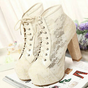 women high heels lace up hollow fashion shoes rubber sole