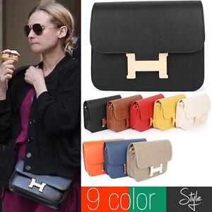Womens-Bags-Handbags-Leather-Cross-Evening-Messenger-Baguette-Satchel-Sholuder