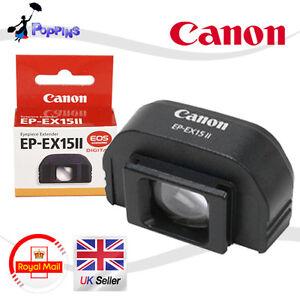 NEW-Genuine-Canon-EP-EX15-II-Eyepiece-Extender-EOS-60D-5D-40D-550D-600D-1100D